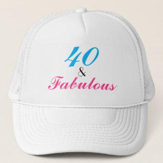 40 und fabelhafter 40. Geburtstag Truckerkappe