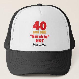 40 und noch Smokin heißer | 40. Name Geburtstags-| Truckerkappe