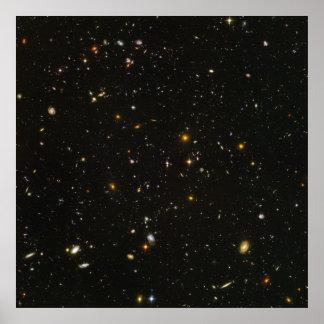 "40"" x40"" (maximales) HUDF Hubble ultra tiefes Feld Poster"