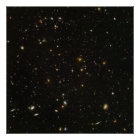"40"" x40"" (maximales) HUDF Hubble ultra tiefes Poster"