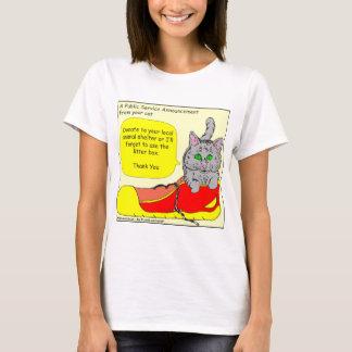 420 spenden zu Tierschutz Cartoon T-Shirt
