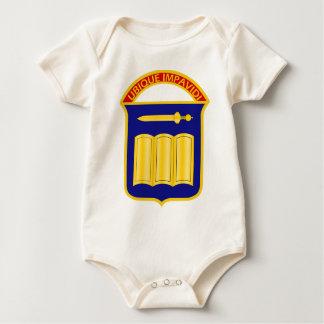 420th Infanterie-Regiment - Ubique Impavidi - in Baby Strampler