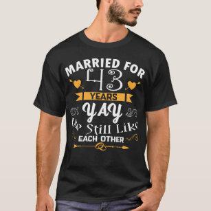 Hochzeitstag 43 13. Hochzeitstag: