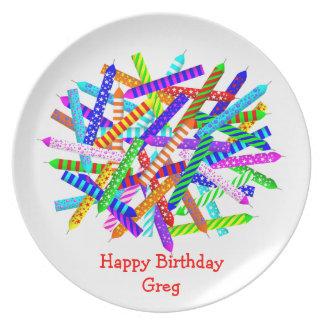45. Geburtstags-Geschenke Party Teller