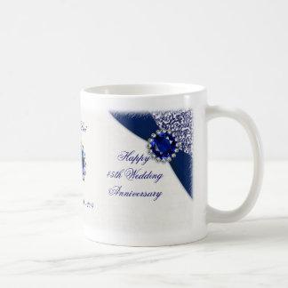 45. Hochzeits-Jahrestags-Tasse Tasse