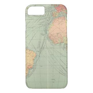 45 Linien Kommunikation, Atlantik iPhone 8/7 Hülle