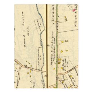 46-47 White Plains, Scarsdale Postkarte
