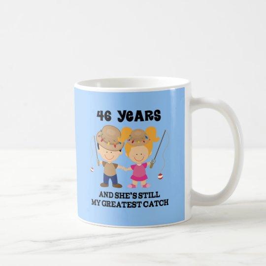 46 Hochzeitstag | 46 Hochzeitstag Geschenk Fur Ihn Kaffeetasse Zazzle
