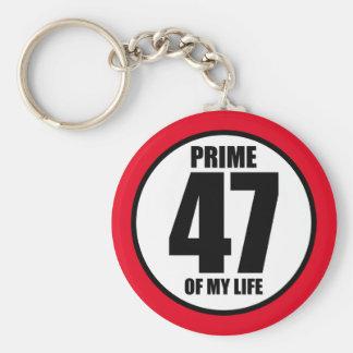 47 - höchste Vollkommenheit meines Lebens Schlüsselanhänger