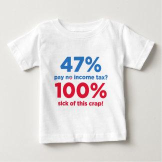 47% Lohn keine Steuern? Baby T-shirt