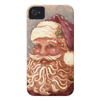 4884 Weihnachtsmann-Weihnachten iPhone 4 Hüllen