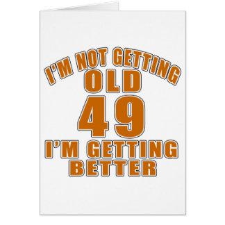 49, die ich mich verbessere karte