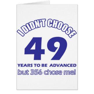 49 Jahre Förderung Karte