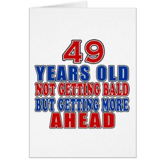 49 voran Geburtstags-Entwürfe Karte