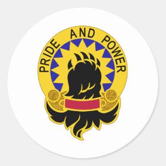 49th Military Police Brigade Round Sticker