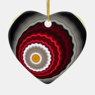 4>>><<<4 KERAMIK Herz-Ornament