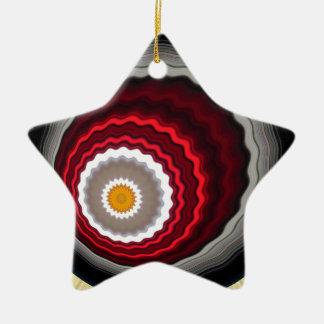4>>><<<4 KERAMIK Stern-Ornament