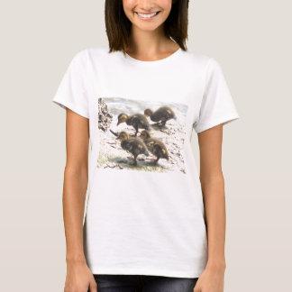 4 Baby-Stockenten T-Shirt