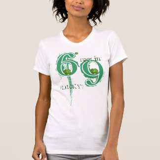 4 Blatt-Klee - Feelin glücklich T-Shirt