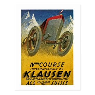 4. Course Internationale du Klausen Postkarte