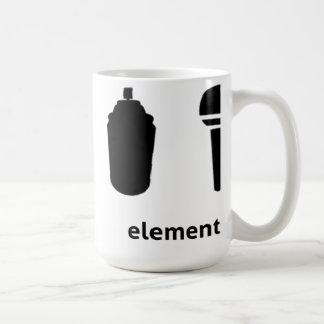 4 Elemente des Hip-Hop Kaffeetasse