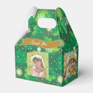 4 FOTO Collagen-Giebel-Kasten-St. Patricks Geschenkschachtel