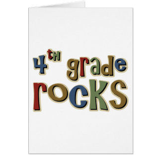 4. Grad-Felsen vierter Grußkarte