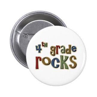 4. Grad-Felsen vierter Runder Button 5,1 Cm