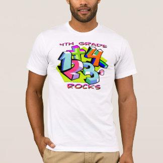 4. Grad-Felsen - Zahlen T-Shirt
