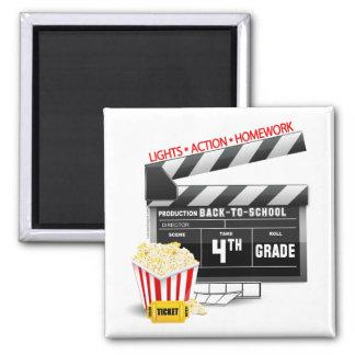 4. Grad-Film-Schindel Quadratischer Magnet