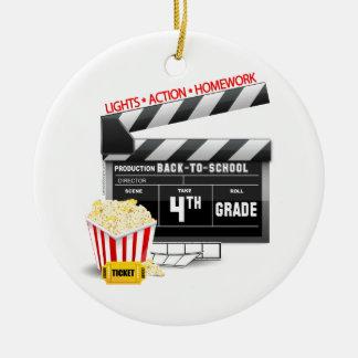 4. Grad-Film-Schindel Rundes Keramik Ornament