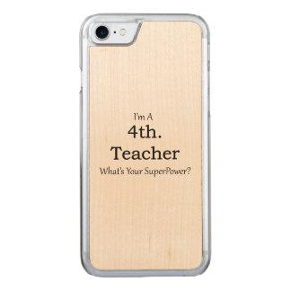 4. Grad-Lehrer Carved iPhone 8/7 Hülle