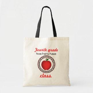 4. Grad Lehrer haben Klassen-Apple-Tasche