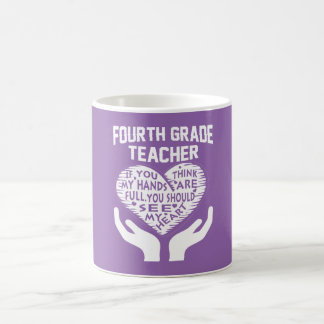 4. Grad-Lehrer Tasse