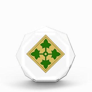4. Infanteriedivision Acryl Auszeichnung