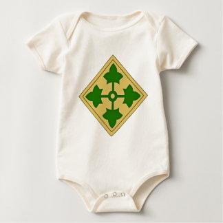 4. Infanteriedivision Baby Strampler