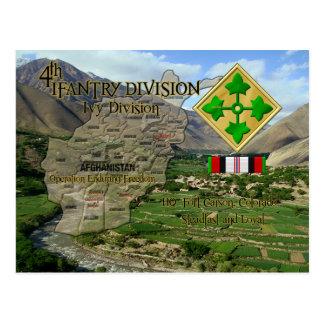 4. Infanteriedivision Postkarte