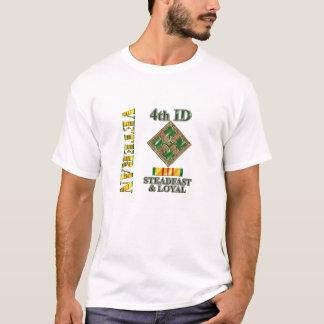 4. Infanteriedivision-Vietnam-Veteran T-Shirt
