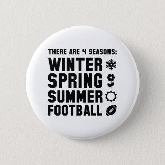 4 Jahreszeit-Fußball Runder Button 5,1 Cm