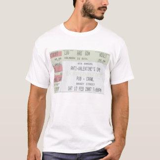 4. Jährlicher Anti-Valentinsgrüße TagesKneipentour T-Shirt