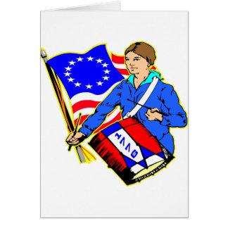 4. Juli 1776 revolutionärer Krieg für Karte