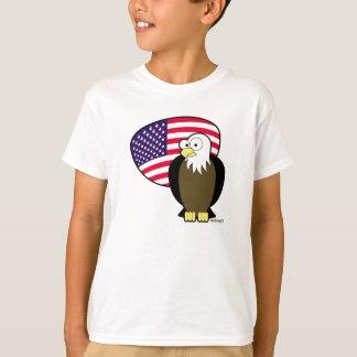 4. Juli Amerikaner Eagle T-Shirt