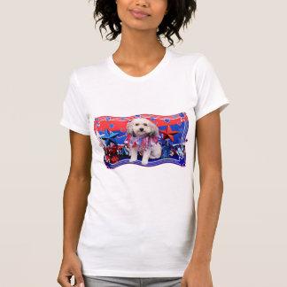 4. Juli - Bichon Frise X - Macy T-Shirt