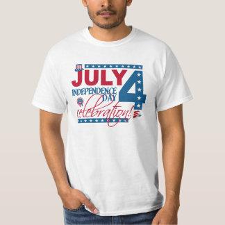 4. Juli Feier-Shirt, doppelseitig T-Shirt