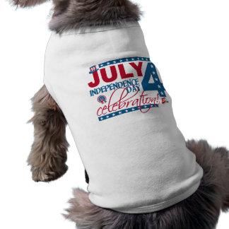 4. Juli Feierhaustierkleidung T-Shirt