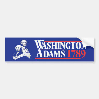 4. Juli Kampagnen-Autoaufkleber Washingtons Adams Autoaufkleber