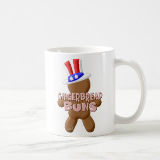 4. Juli Lebkuchen-Brötchen Kaffeetasse