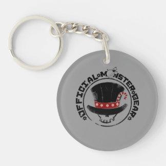 4 kleine Monster - Andy-Feiertags-Logo Einseitiger Runder Acryl Schlüsselanhänger