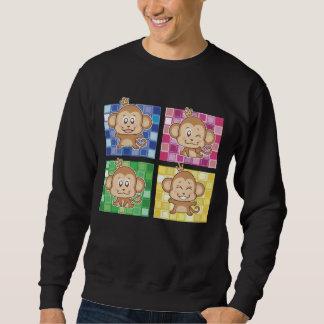 4 kleinen Affen Sweatshirt