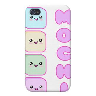 4 Mochi Kuchen Kawaii iPhone 4 Etuis